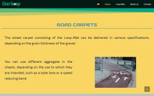 Iberloop road carpets